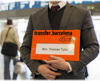 Wait at Airport without cost taxi barcelona